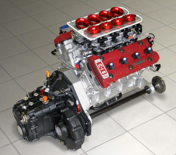 Ariel Atom 500 V8 motor - automodified