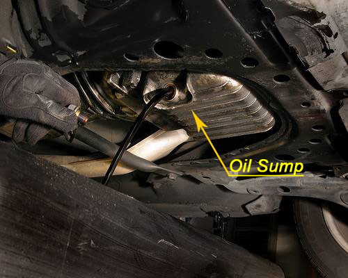 Changing Oil - Oil Sump