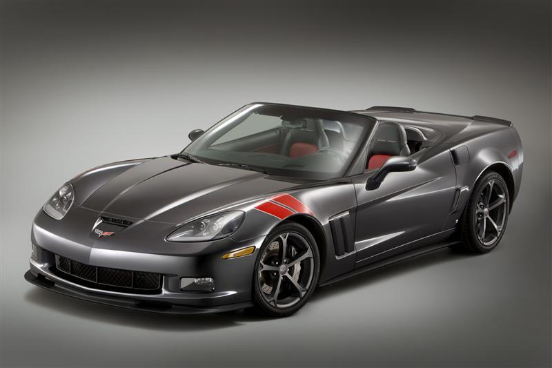 Chevy Corvette Grand Sport - front