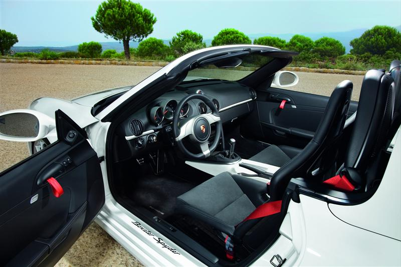 Porsche boxter - interior