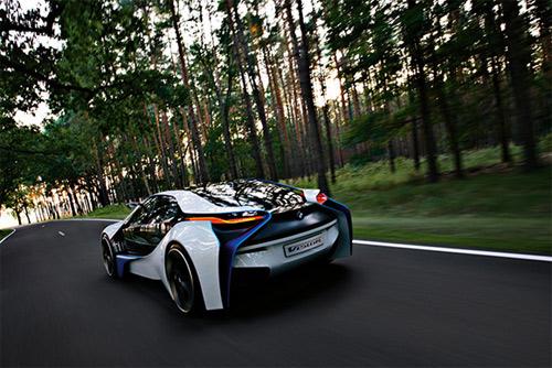 Rear end - BMW concept Vision