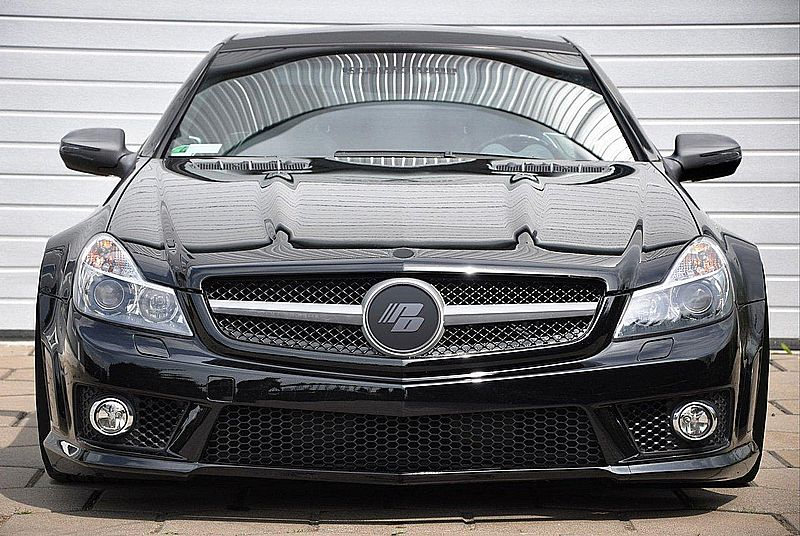Mercedes-Benz SL-Class R230 Facelift Widebody edition by Prior Design