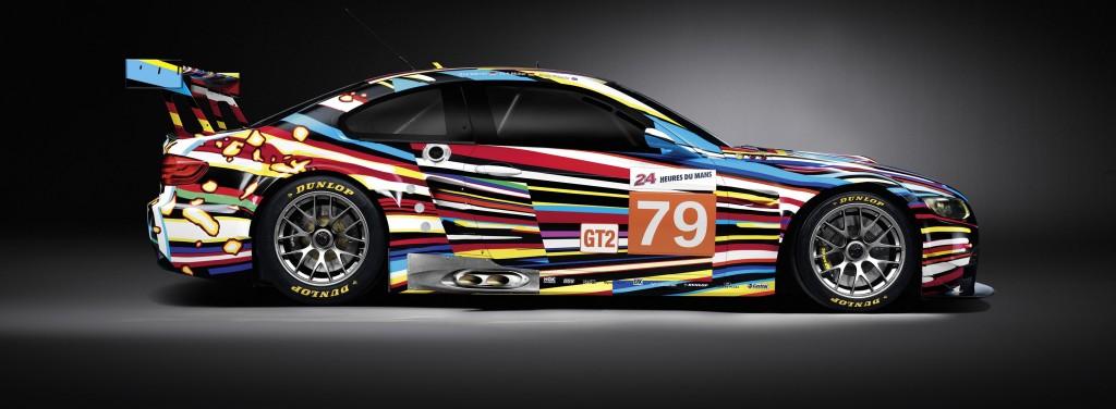 Jeff Koons -BMW unveils M3 Le Mans Art Car