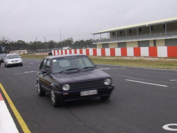 Mk1 Golf - Open Track day