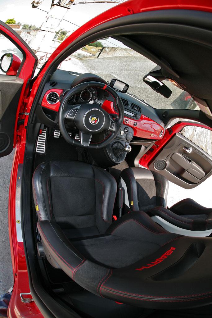 Fiat Ferrari Interior