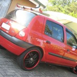 Sporty Renault clio