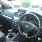 Volkwagen GTI mk5 - interior