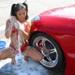 Hot-Asian-girl-washing-a-car-263