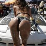 Hot Import Night - 200sx car wash