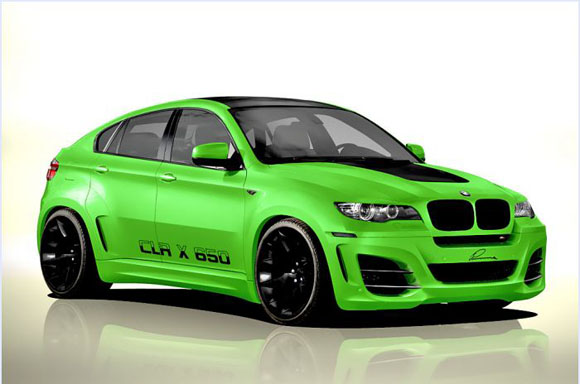 Modified Bmw X6 Lumma Design Automodified