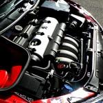 Peugeot GT180 engine bay
