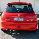 Peugeot rear