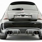Hamann Largo Fiat 500 back exhaust