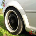 Vw golf 4 - modified wheels