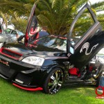 gull wing - modified opel corsa bakkie