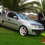 modified opel corsa bakkie