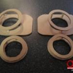 speaker box build - speaker rings