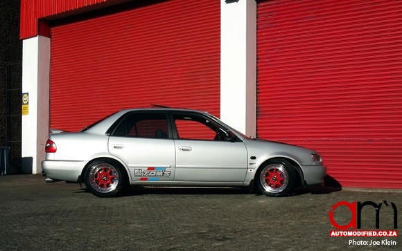 modified toyota corolla rxi the has it fair share of