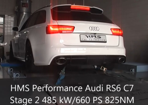 Modified Audi RS6 on Steroids – HMS German Tuning